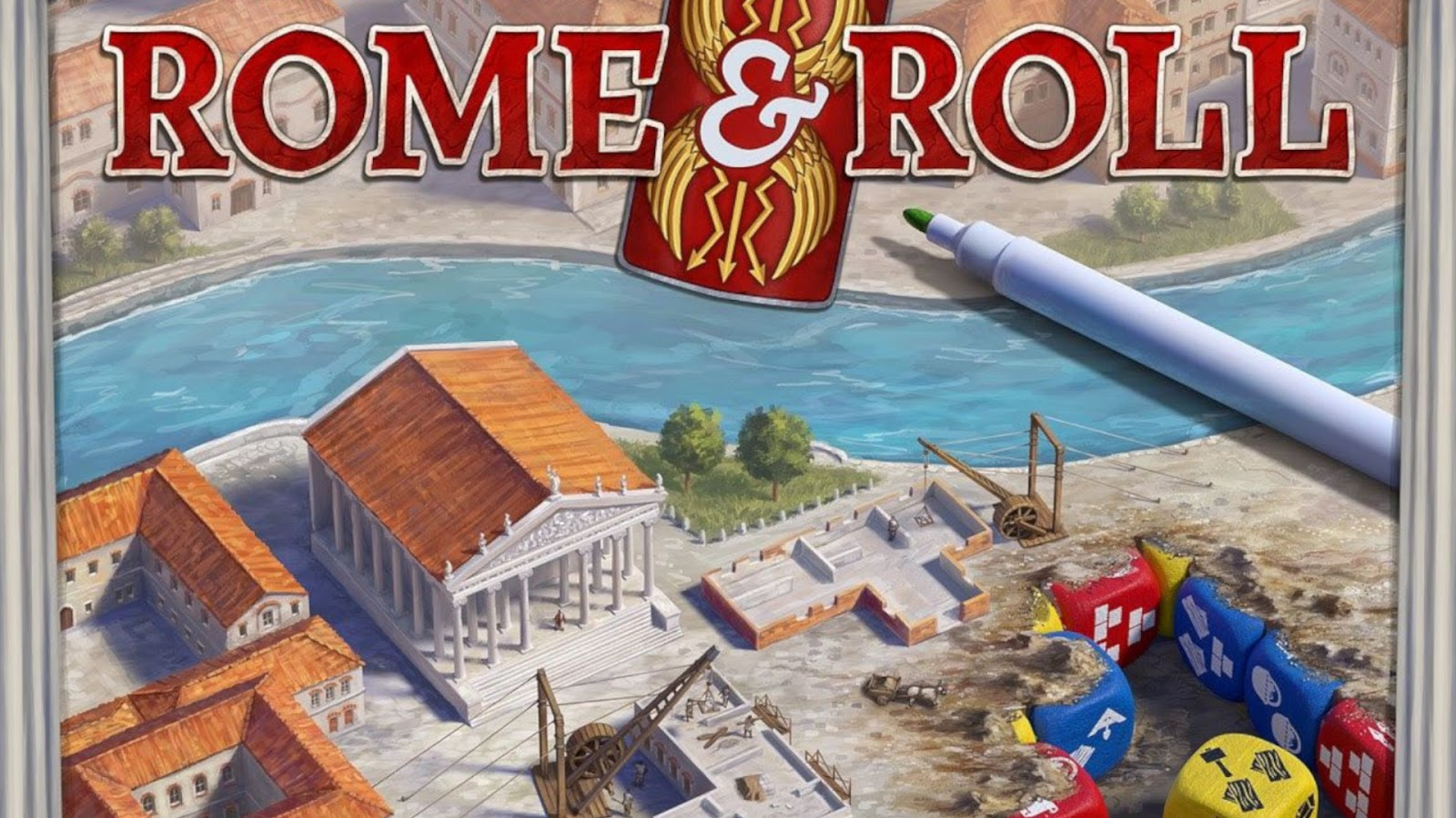 Kickstarter Highlights - Rome and Roll