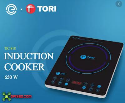 Kompor listrik Tori TIC818