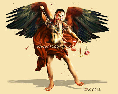 Crocell the Duke of Hell in the Ars Goetia of the Lesser Key of Solomon