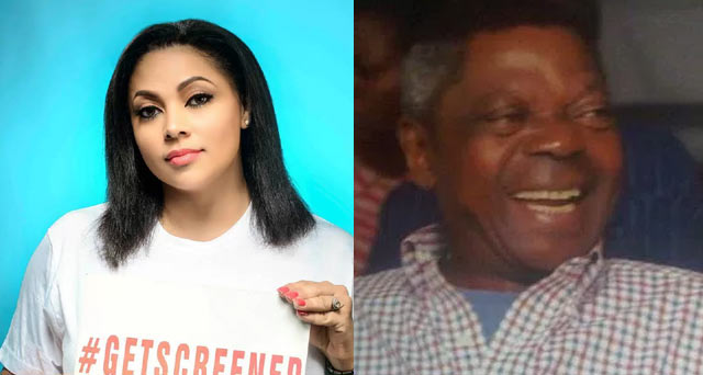 See Lola Omotayo's dad who turned a year older today