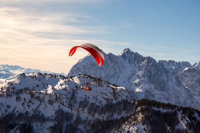 Paragliding in India | Top Paragliding Destinations in India