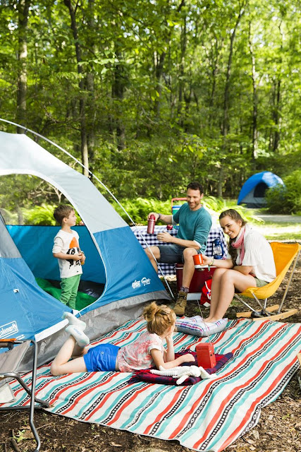 backyard campouts are ideal for those with small children