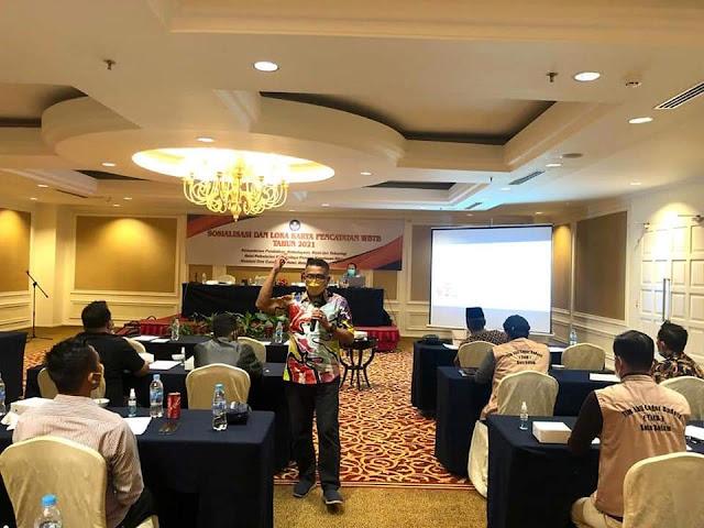 Kepala BPNB Kepri, Toto Sucipto Membuka Kegiatan Sosialisasi dan Lokakarya WBTb Tahun 2021 Secara Virtual