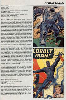 Hombre de Cobalto Ficha Marvel