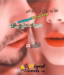 Mera Ishq Hai Tu Episode 28 By Anaya Khan