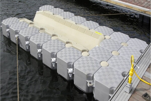 Candock's Modular Floating Dock System