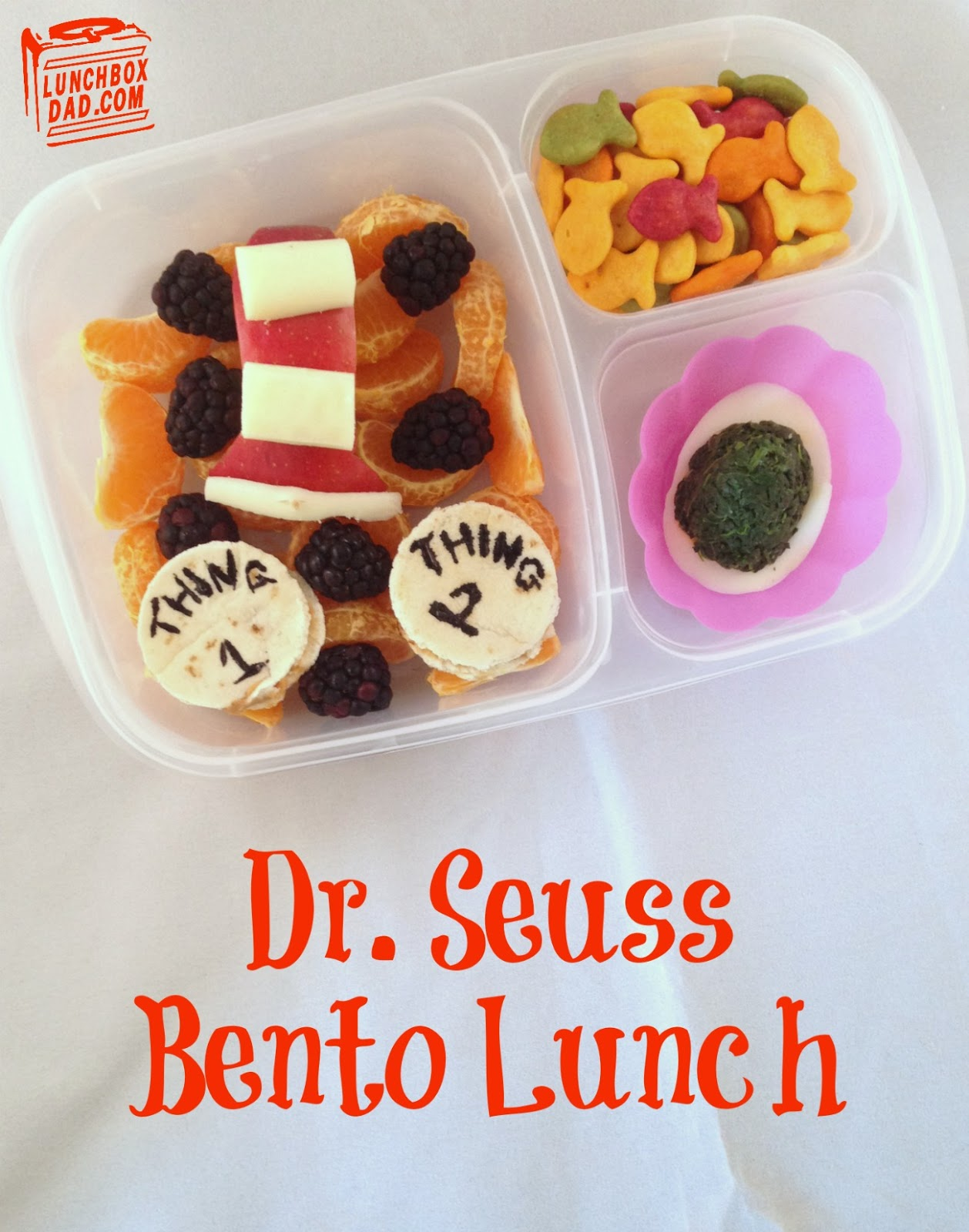 Dr. Seuss Bento Lunch