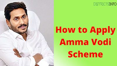How to Apply Amma Vodi Scheme