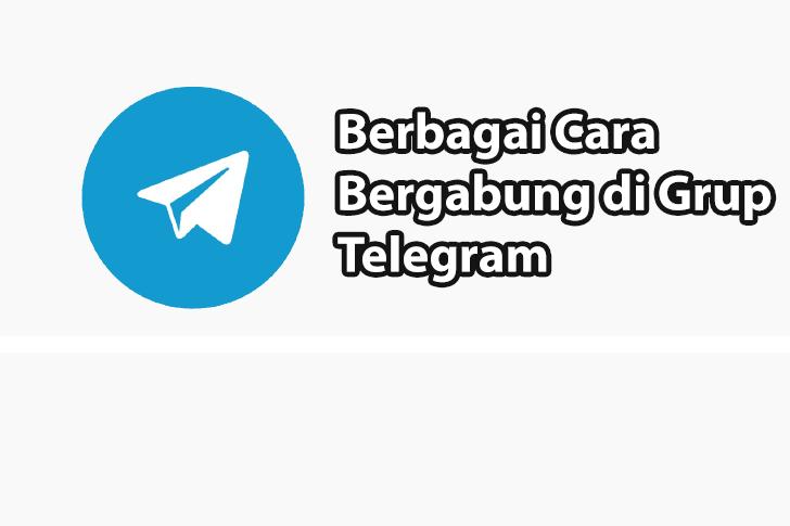 Cara Gabung Grup Telegram