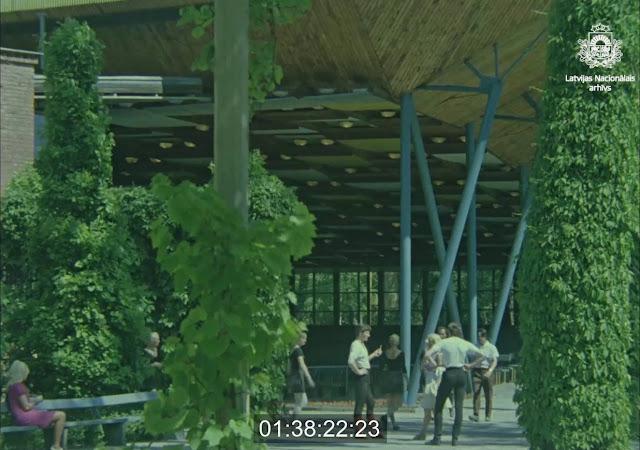 """1970 год. Юрмала. Возле концертного зала """"Дзинтари"""""""