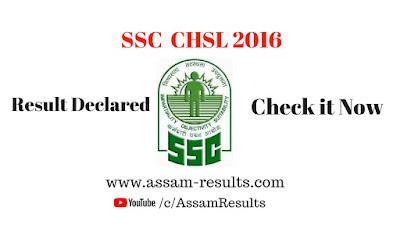 SSC chsl 2016