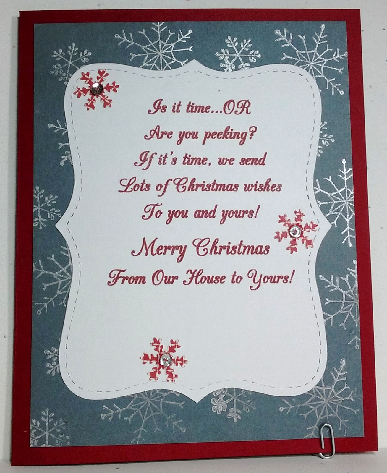 Chatterbox Creations: More Christmas Tags to Cards Conversions