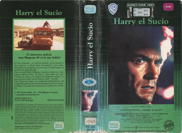"""Pelicula: """"Harry el Sucio"""" - 1971"""