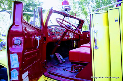 Véhicules de pompiers anciens