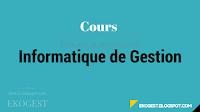 Informatique de Gestion | Cours informatique de gestion