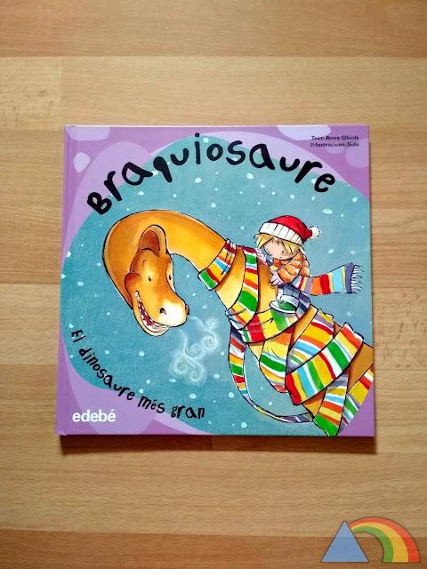 Portada del libro Braquiosaurio, el dinosaurio más grande