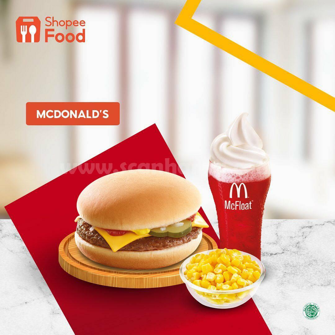 McDonalds Promo DISKON 50% + GRATIS ONGKIR via ShopeeFood
