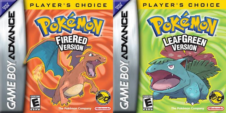 Pokémon FireRed e LeafGreen Boxart