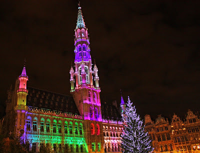 christmas light show bruxelles