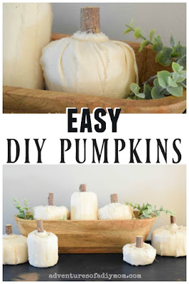 quick and easy diy pumpkins