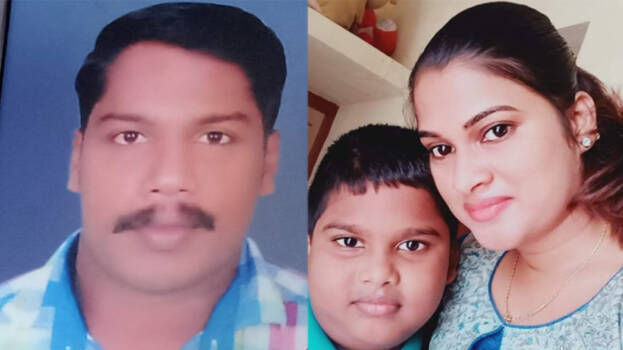 An expatriate killed his wife and son by strangling them,www.thekeralatimes.com