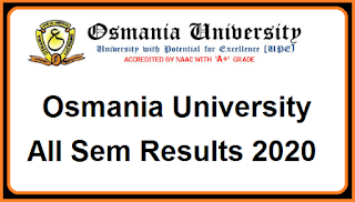 Manabadi OU Degree Results 2020