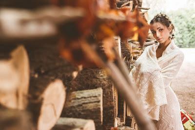 sposa autunno stola