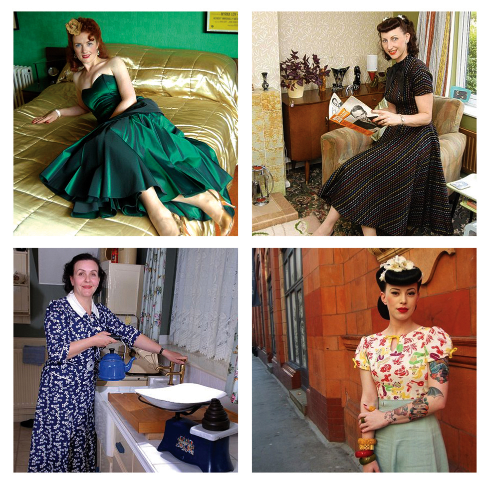 Time Warp Wives Documentary 1930s 1940s 1950's