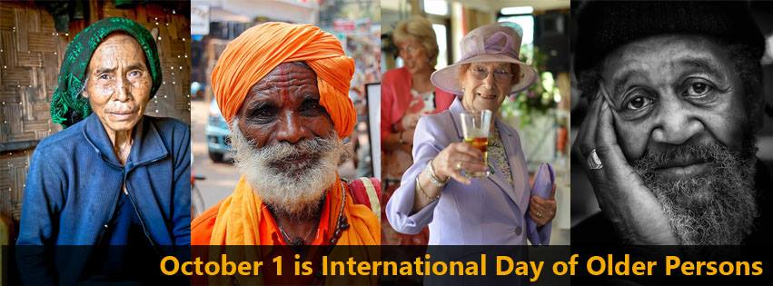 International Day of Older Persons Wishes Unique Image