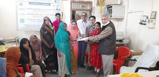 मध्यप्रदेश ग्रामीण बैंक के द्वारा ऋण स्वीकृत व वितरण कार्यक्रम का आयोजन किया गया