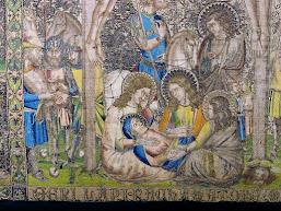 Frontal Florentí de la Seu de Manresa de Ramon Saera, encarregat al voltant de l'any 1350. Imatge: Diari Regió7