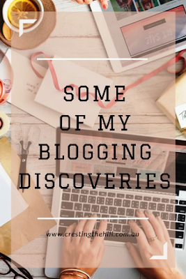 After blogging away diligently for a couple of years, here are a few things I've discovered