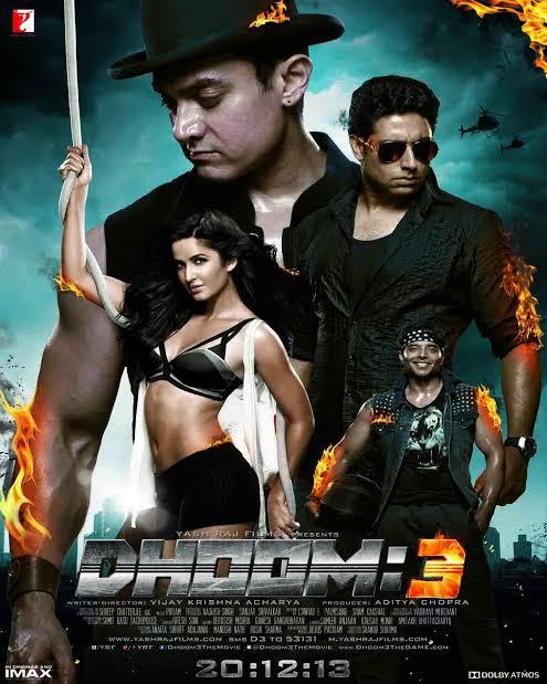 Dhoom 3 (2013) Full Movie Download 480p, 720p Khatrimaza
