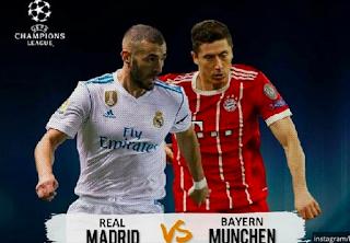 3 Statistik yang Memberatkan Tim Tamu Real Madrid Yang Memberatkan Bayern Munchen