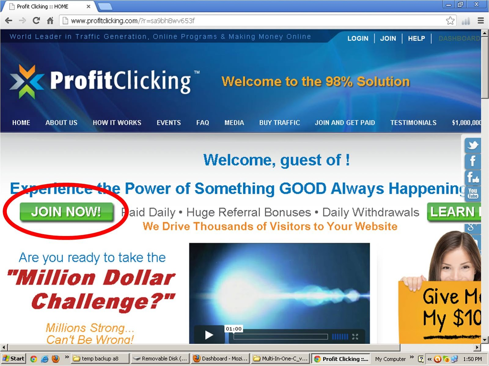 Pc World: Earn Money with Profit Clicking Complete Urdu Guide / Help