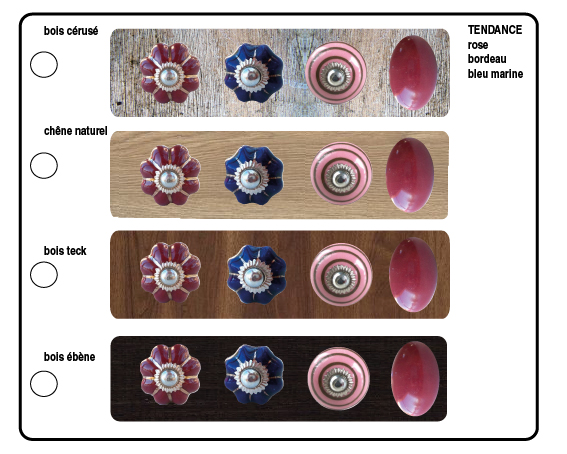 Bouton de meuble bouton tiroir bouton commode