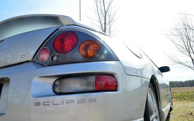 Mitsubishi Eclipse 3G, D50, po faceliftingu, tylne lampy
