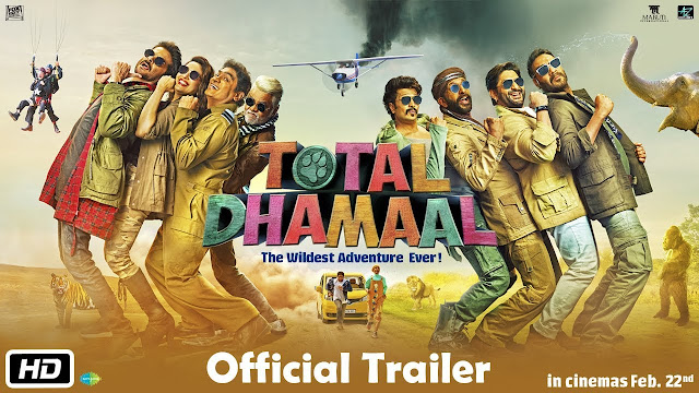 'Total Dhamaal' Trailer: Ajay Devgan, Anil Kapoor, MadhuliDixit's 'Total Dhamal', is full of comedy trailer