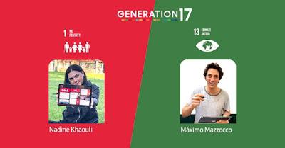 """مبادرة """"الجيل 17"""": كيف يستخدم القادة الشباب التكنولوجيا لنقل أفكارهم إلى مستويات عالمية"""