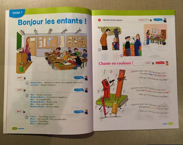 """Recenzje #190 - """"Tip top ! 1"""" - strony z dialogiem oraz piosenką - Francuski przy kawie"""