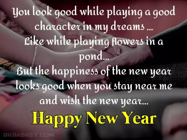 New Year Wishes for Girlfriend | Happy New Year My Love |