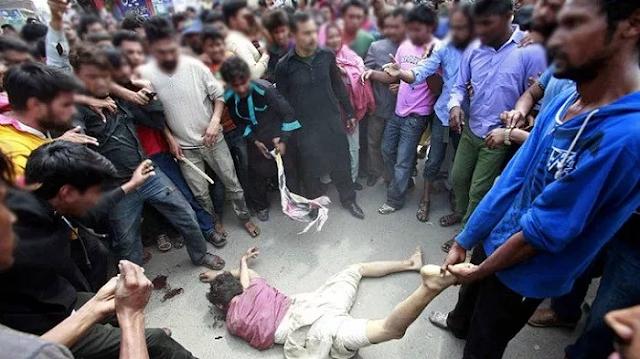 MOB LINING: लड़की के पीछे SCHOOL पहुंचे तीन बदमाशों को भीड़ ने मार डाला | NATIONAL CRIME NEWS
