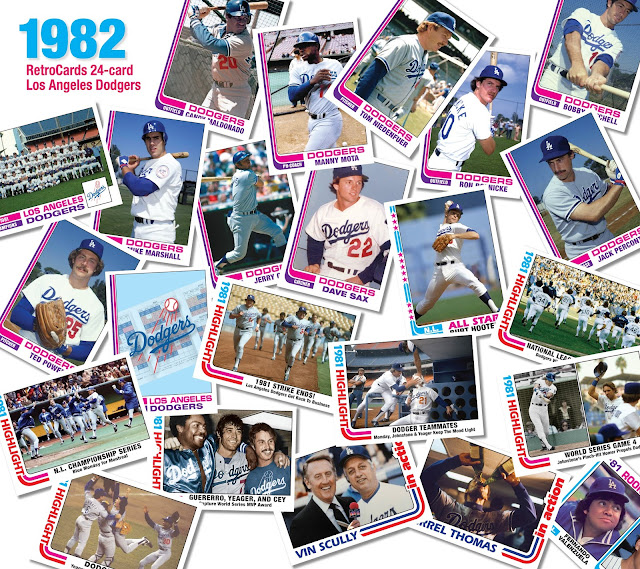 Topps, RetroCards, baseball custom cards that never were, 1982 Topps baseball