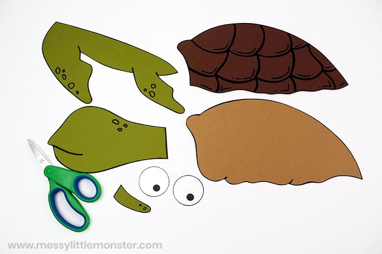turtle craft tempate