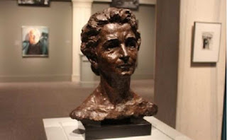 Margaret Sanger Bust Statue at the Smithsonian Institution
