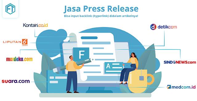 Jasa Press Release Publikasi Media Online Nasional