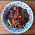 Stir-Fry Beef With Ginger  And Scallion Rice Cakes