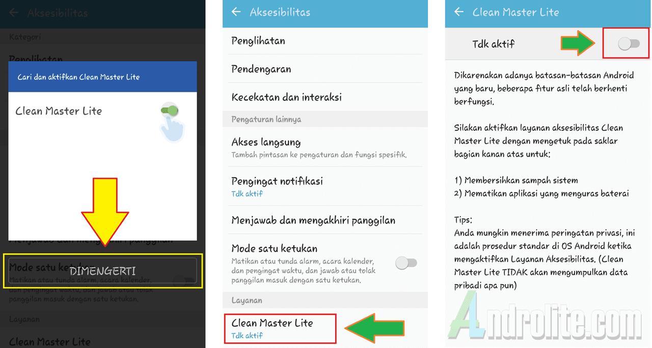 Meningkatkan kinerja android dengan aplikasi tanpa root