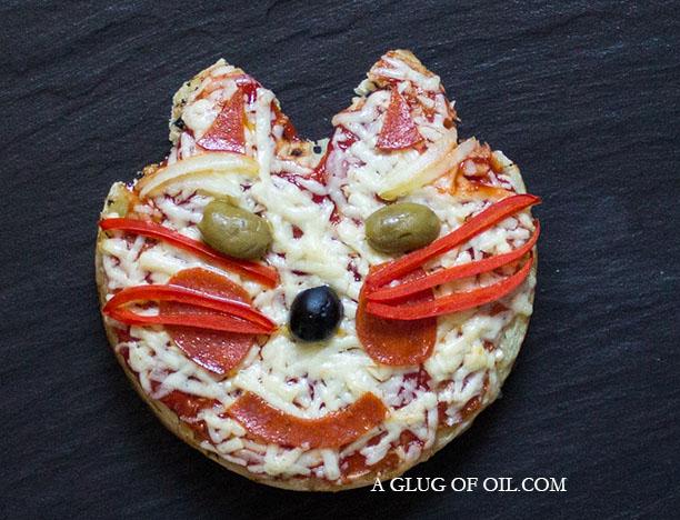 Giant Crumpet Pizza Cat