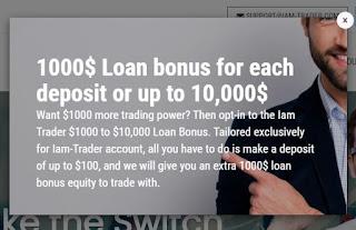 Iam-Trader Deposit Bonus - Deposit $100 Get Bonus $1000